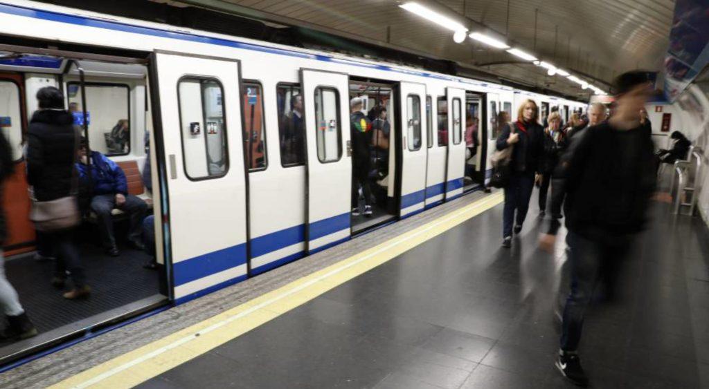 Cortes de luz en estaciones de Metro de Madrid
